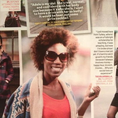 Cosmo Street Styling- January 2013 issue