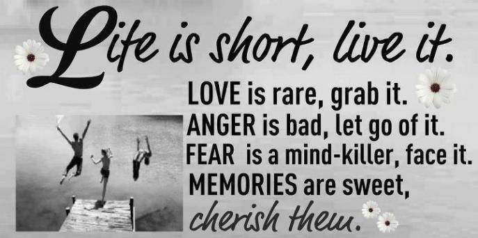 Life is Short ....