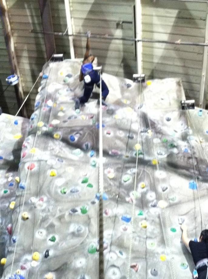Meet #Loi Jordan: Fearless Wall Climber!