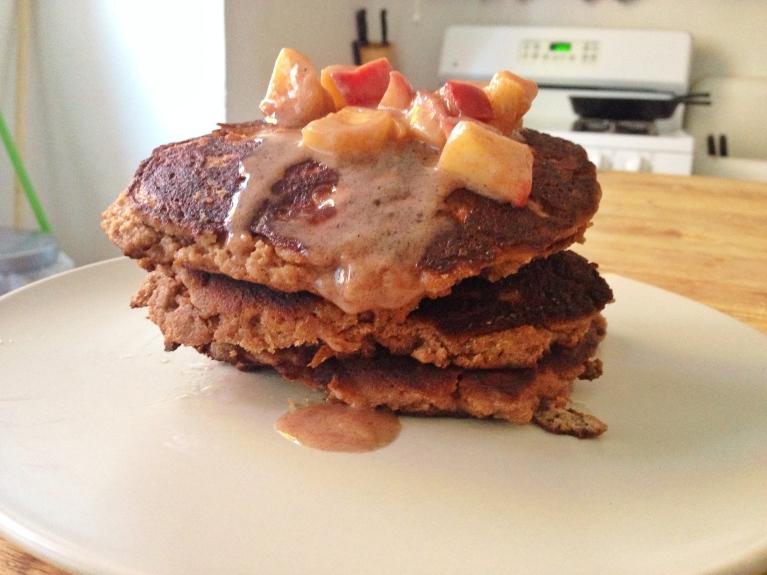 Paleo grain-free pancakes