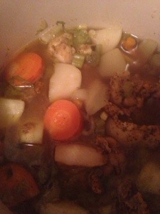 Healthy Cold Kicking soup