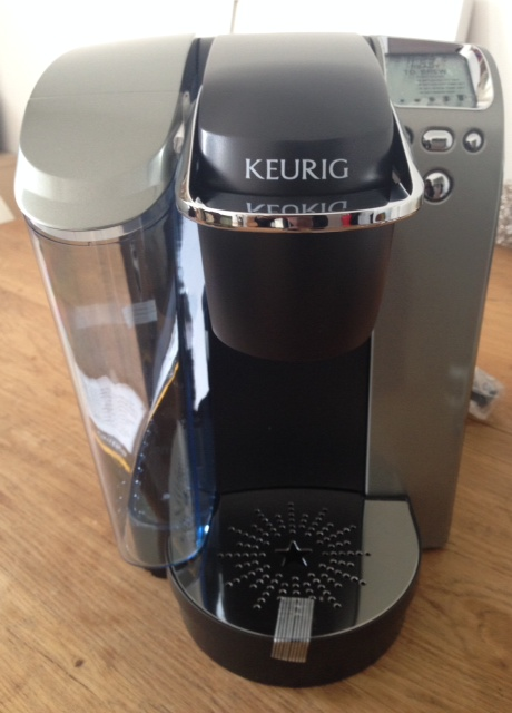 Meet Karl, my new Keurig! #BrewItUp